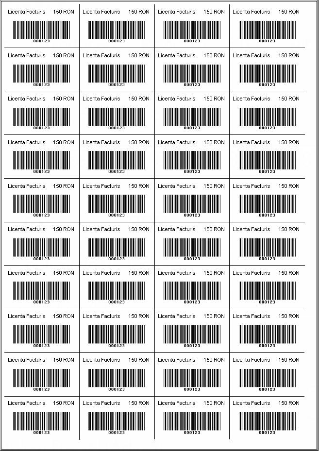 etichete cu coduri de bare